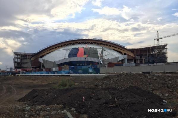 Строительство Ледового дворца началось в 2019 году