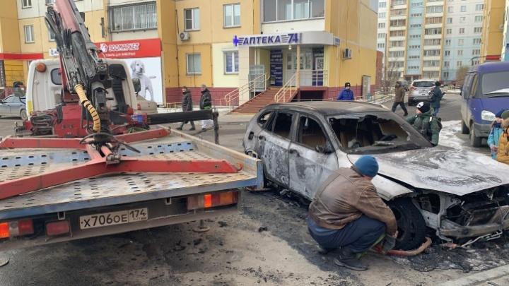 Полиция задержала подозреваемых в поджоге машины челябинского журналиста Znak.com