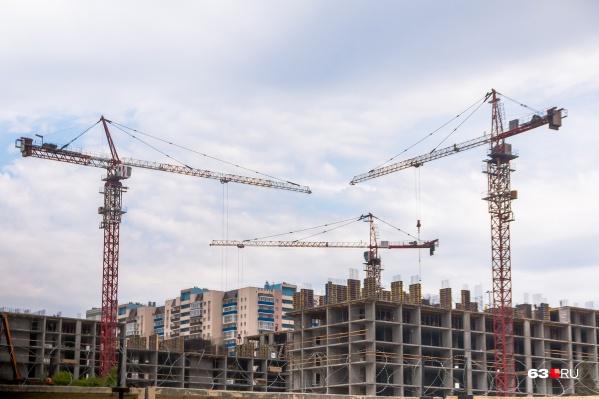 Строительство идет, а спрос на жилье в Самарской области падает