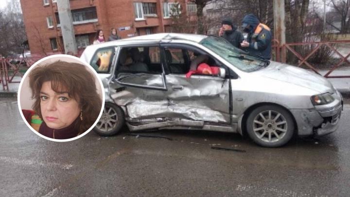 «Жена из-за боли не может ходить»: муж пострадавшей в ДТП на Московском ищет свидетелей аварии