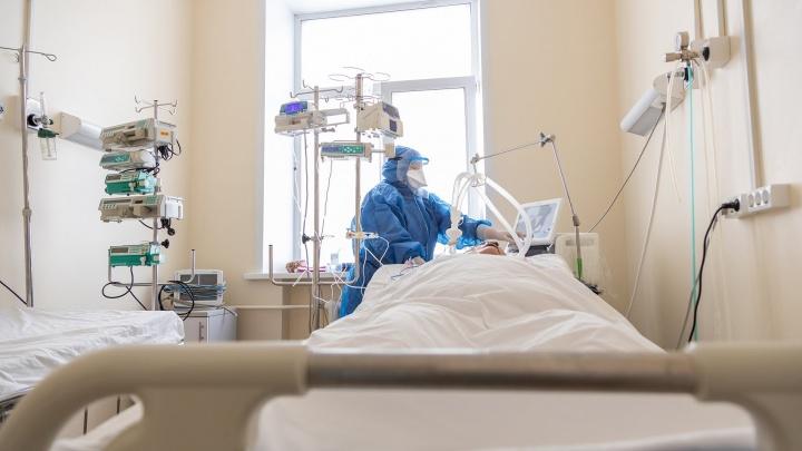 Власти Кузбасса объяснили, почему на 50% уменьшили количество мест для лечения COVID-19