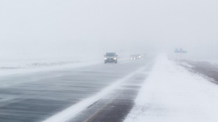 Метель и гололед: в Самарской области резко ухудшится погода