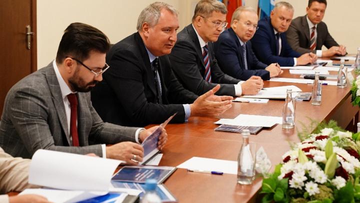 Глава Роскосмоса предложил нанести на ракету башкирскую символику