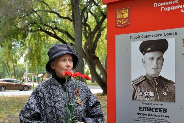 Аллею Героев заложили специально к 75-летию победы в Великой Отечественной войне