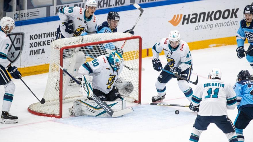 Победа в овертайме: ХК «Сибирь» обыграл команду из Сочи