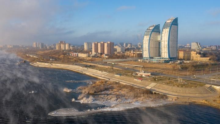 Волгоград и область накрывает мороз до -34 градусов