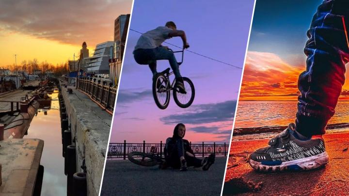 Вот это закаты! Провожаем май вместе с архангелогородацами из Instagram. Огонь-фото