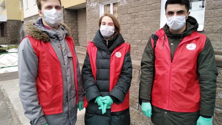 Волонтеры, которые привозят пенсионерам в Уфе продукты и лекарства: «Наш долг — помогать больными и немощным»