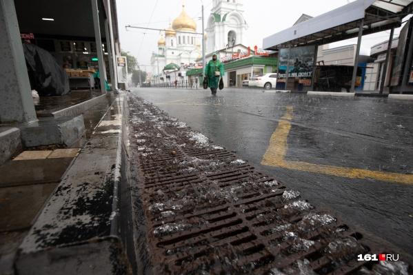 Накануне в городе затопило немало улиц