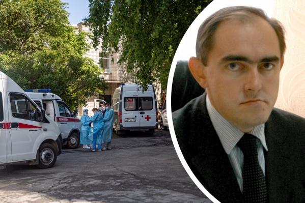 Министр транспорта Анатолий Костылевский ушел на больничный несколько дней назад