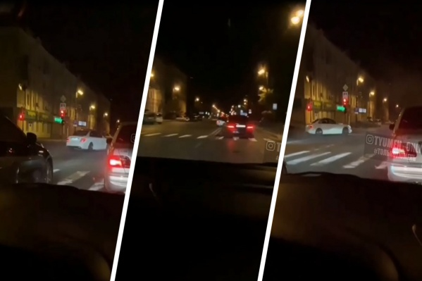 Сейчас сотрудники ГИБДД выясняют, в какой из выходных водитель дрифтовал в центре города