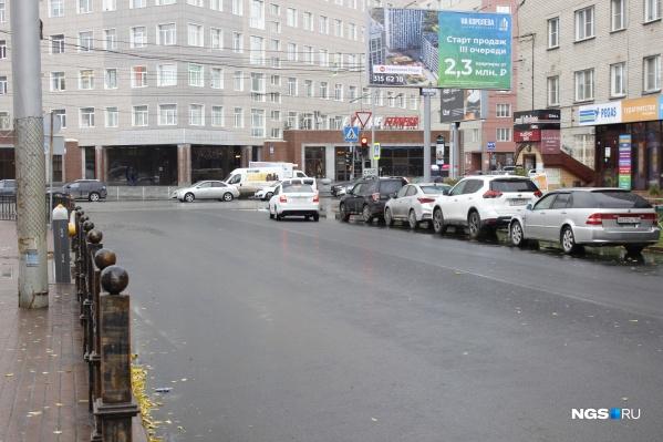 Советская — одна из главных артерий центральной части Новосибирска
