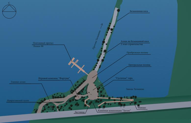Проект устройства туристско-рекреационной зоны