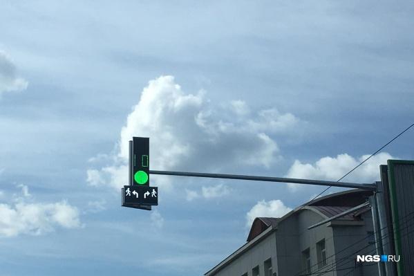 Такие светофоры появятся в нескольких районах города
