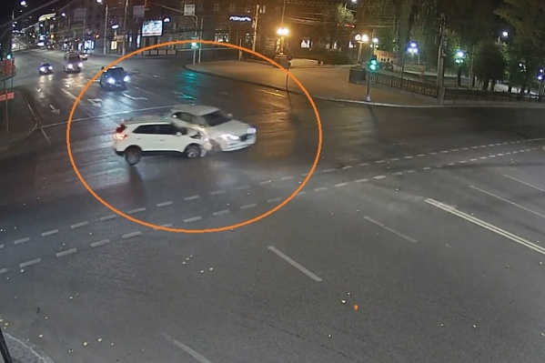 Авария произошла поздно вечером 25 октября