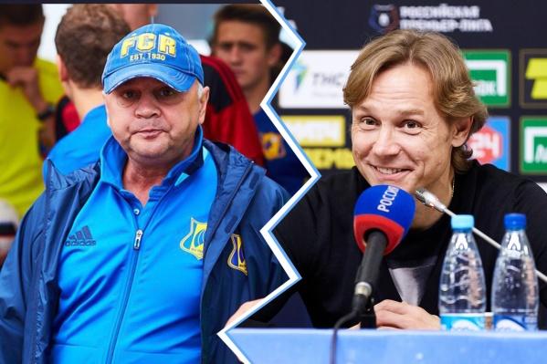 Валерий Карпин и Игорь Гамула любят баловать журналистов и болельщиков яркими фразами