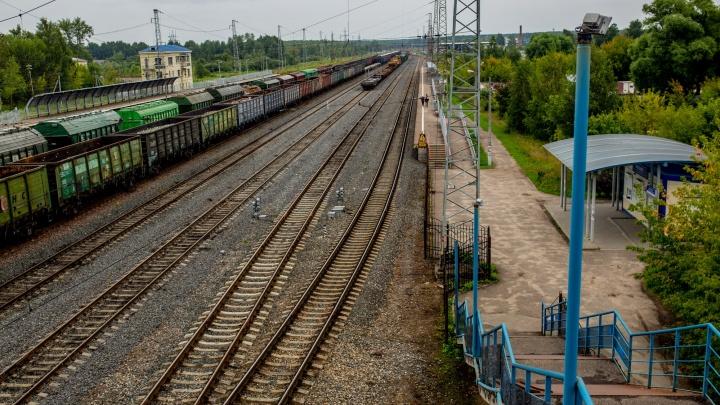 В Ярославской области молодой мужчина выжил, попав под мчащийся грузовой поезд
