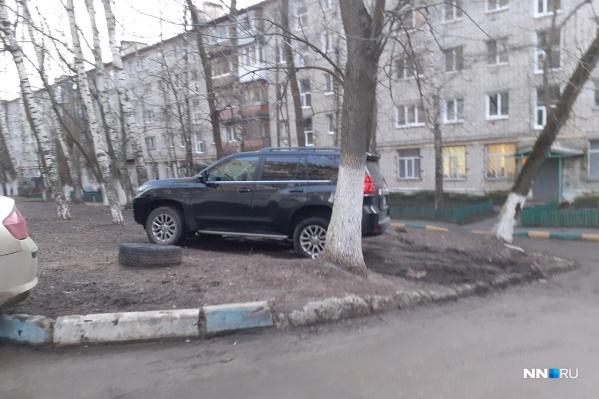 Это фото сделано на улице Перекопской. Но такая картина сейчас буквально в каждом дворе