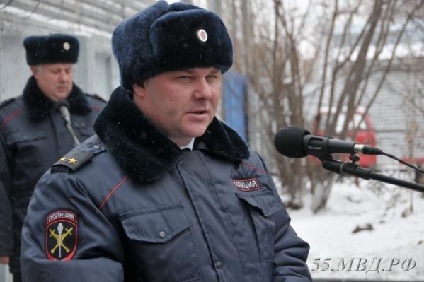 Омскую полицию уроженец Черлака Алексей Меркушов возглавлял с 2015 по 2019 годы