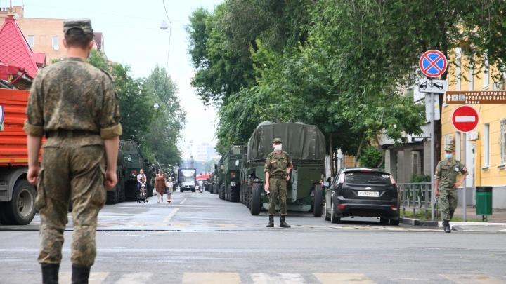 Репетиции парада Победы в Самаре: публикуем график перекрытия дорог