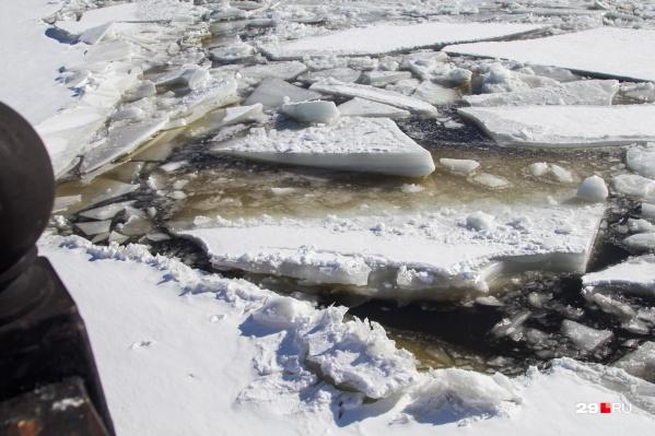 Прогнозируются длительные заторы и повышение уровня воды выше нормы на 3–3,5 метра
