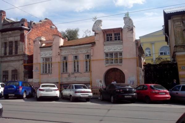 Так выглядел «Дом с авгурами» до «реставрации» Багдасаряном