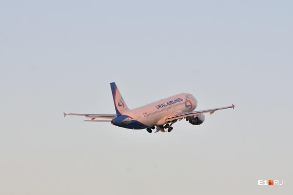 Три самолета до Екатеринбурга застряли в Домодедове из-за ледяного дождя