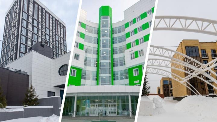 9 самых интересных новых зданий, которые появились в Новосибирске в 2020 году