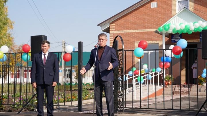 Радий Хабиров торжественно открыл два новых ФАПа
