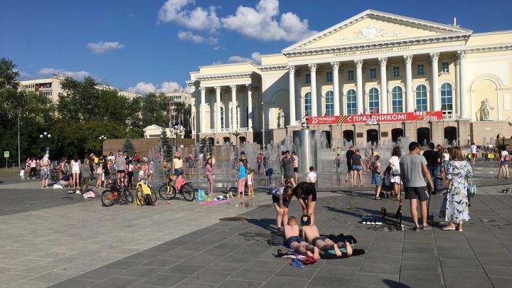 В Тюмени всю неделю будет жарко, сухо и солнечно