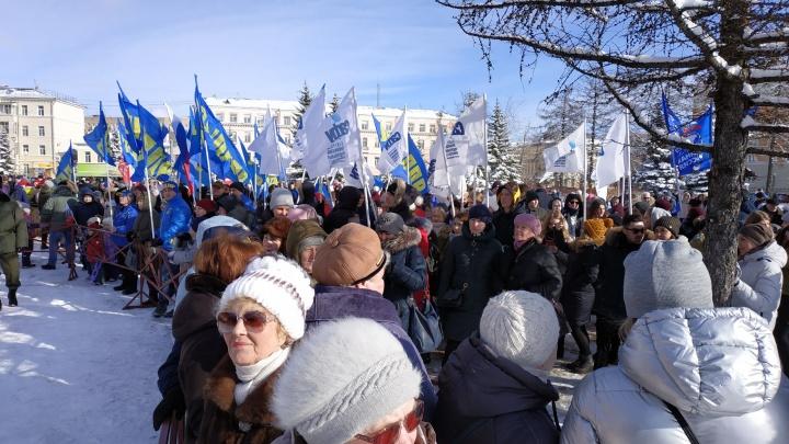 В Общественной палате ответили, почему «Крымская весна» проходит в Архангельске 15 марта