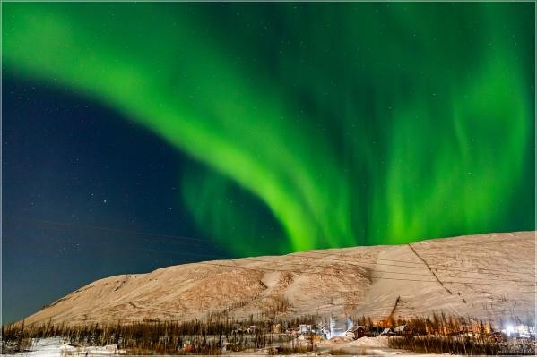 Таким северное сияние увидел фотограф Дмитрий Болдырев в прошлом году