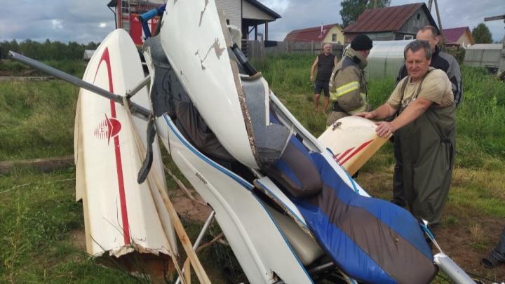 Под Архангельском в озеро упал гидроплан с двумя членами экипажа