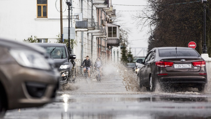 На Ярославль идут сильные ветра и дождь: МЧС предупредило горожан об опасности