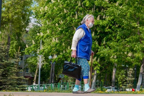 Режим самоизоляции для людей в возрасте 65+ в регионе продлён до 9 августа