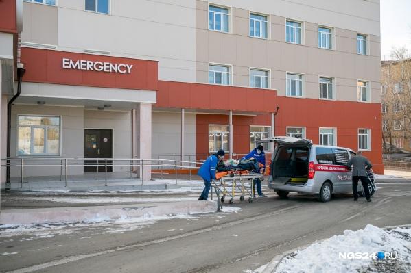 В Красноярске растет число больных с подозрением на коронавирус