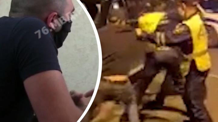 «Заругали меня»: ярославца, кричавшего «Бей мусоров!», застыдили родственники-полицейские
