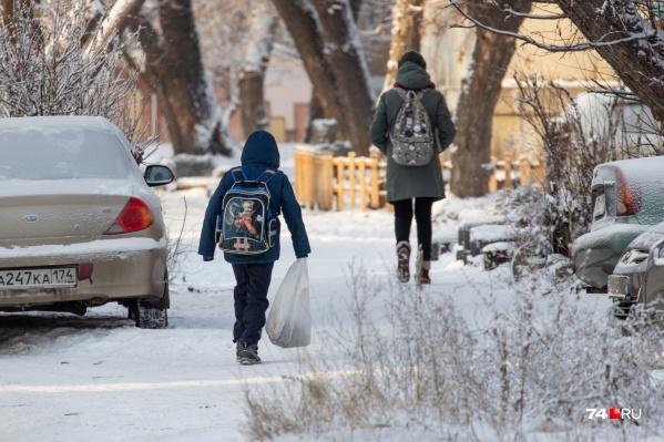 На мини-каникулы из-за холодов отправили только младшеклассников