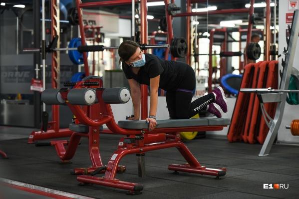 Фитнес-центрам разрешили возобновить занятия с соблюдением требований Роспотребнадзора