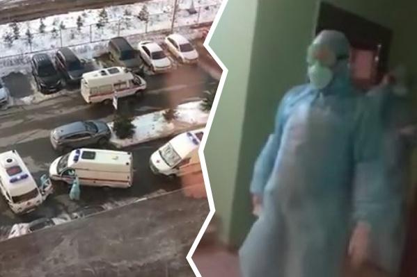 Такое скопление медиков напугало тольяттинцев