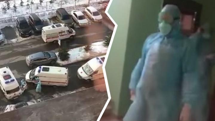 В Тольятти врача с женой принудительно госпитализировали из-за сомнительного теста на COVID-19