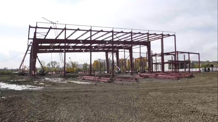 Илья Середюк рассказал о строительстве Ледового комплекса в Кемерово на «Радуге»