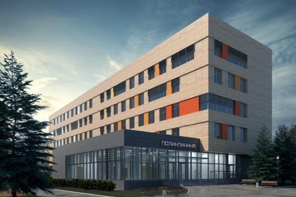 По проекту больница должна выглядеть вот так