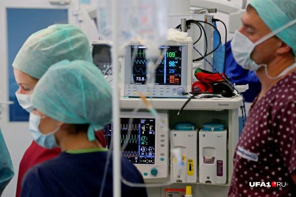 Женщина находилась на лечении в ковид-госпитале
