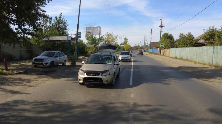 В Кургане под колеса машины попала 9-летняя девочка