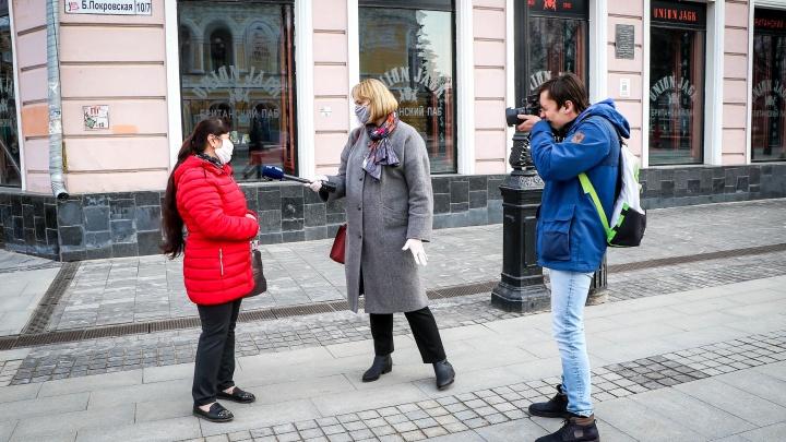 «Да мы только в магазин за лампочкой»: репортаж NN.RU с неожиданно оживленных улиц мегаполиса