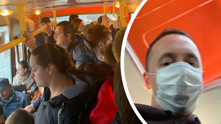 «Стоит одному просто чихнуть»: Мелик-Гусейнов ужаснулся несоблюдению масочного режима в транспорте