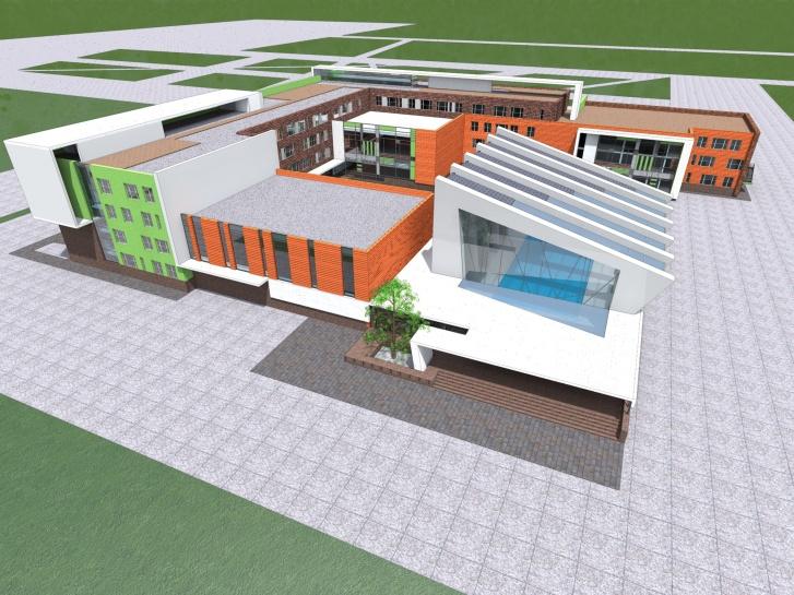Таким будет второй образовательный центр, который планируют сдать в 2022 году