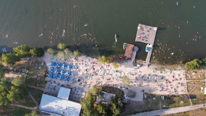 Угадай пляж с высоты: тест на знание водоемов Екатеринбурга и окрестностей