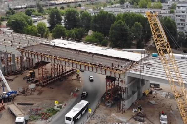 Объект начали строить в 2014 году